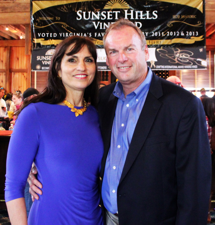Sunset Hills Owners Diane and Mike Canney