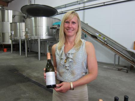 Veritas's Emily Pelton Virginia Wineries at Siduri
