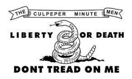 Culpeper Minutmen Flag